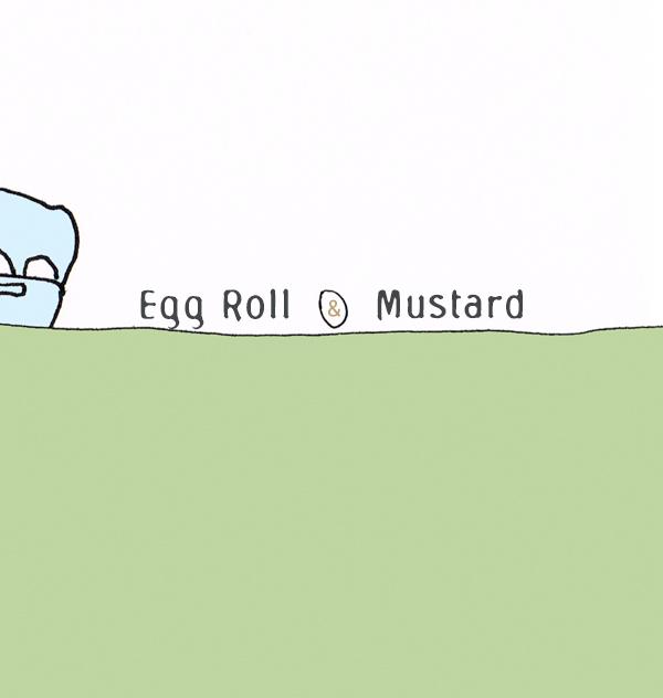 Egg Roll & Mustard