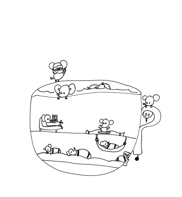 Mice on Vacation