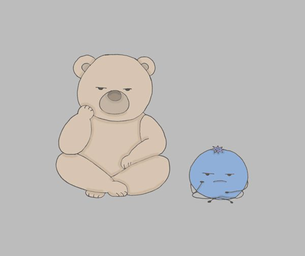 A Beary Berry Bad Day