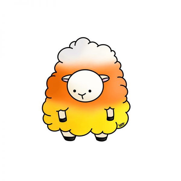 Candy Corn  Sheep