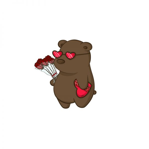 Grizzly In Love